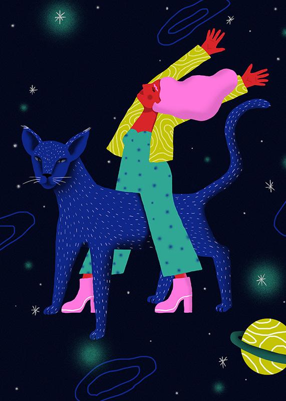Perrine Honoré, ilustración Space