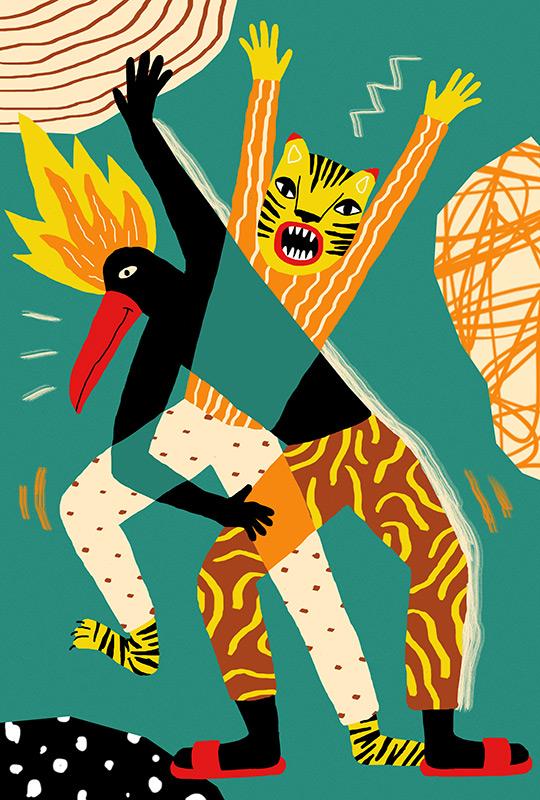 Perrine Honoré, ilustración TOUCAN & TIGER