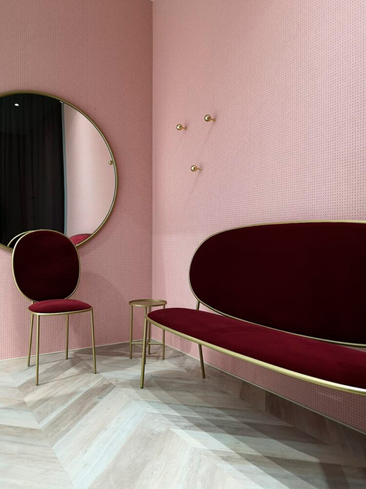 Diseño de interiores, tienda Morela