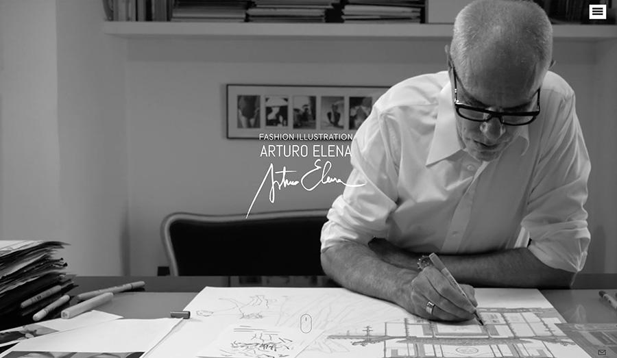 El Ilustrador Arturo Elena estrena nueva web desarrollada por la Agencia de Branding Sumun