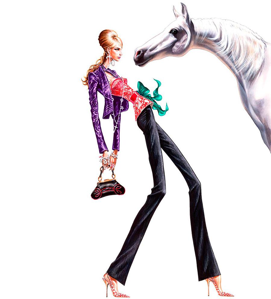 Ilustración del ilustrador Arturo Elena 2006 Victorio & Luccino
