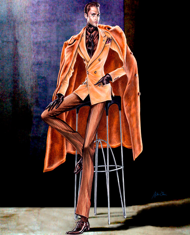 Ilustración del ilustrador Arturo Elena para Victorio & Luccino 2006