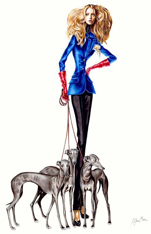 Ilustración del ilustrador Arturo Elena THE EXTREME