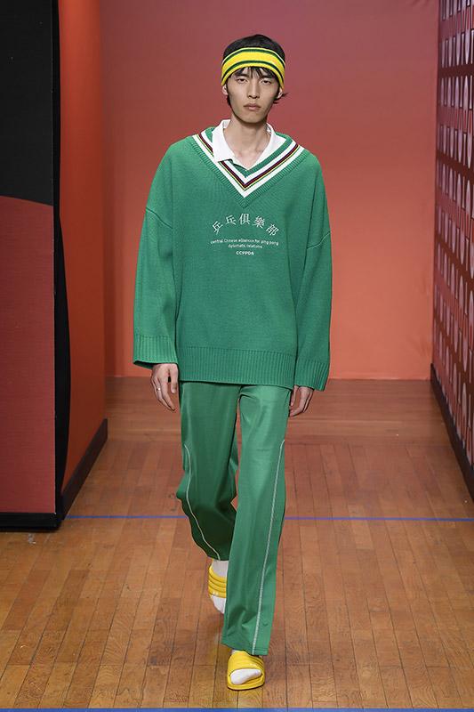 Marca deportiva china Li-Ning coleccion primavera verano 2020 inspirada en el ping pong, 5