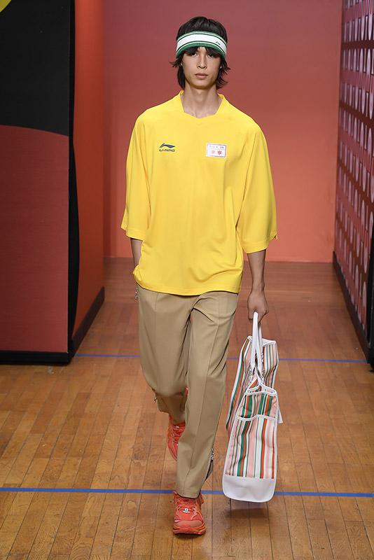 Marca deportiva china Li-Ning coleccion primavera verano 2020 inspirada en el ping pong, 8