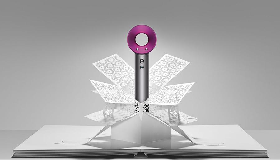 Uno de los electromésticos de Dyson con un diseño muy innovador. Dyson Supersonic Fuchsia, secador de pelo