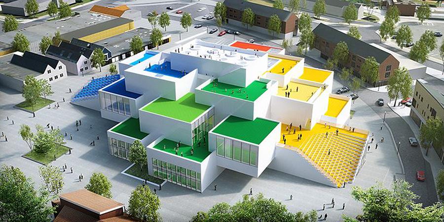 Proyecto de diseño de arquitectura realizado por BIG Bjarke Ingels Group