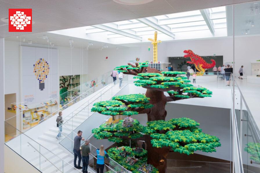 Interior de La Casa de Lego (Lego House)