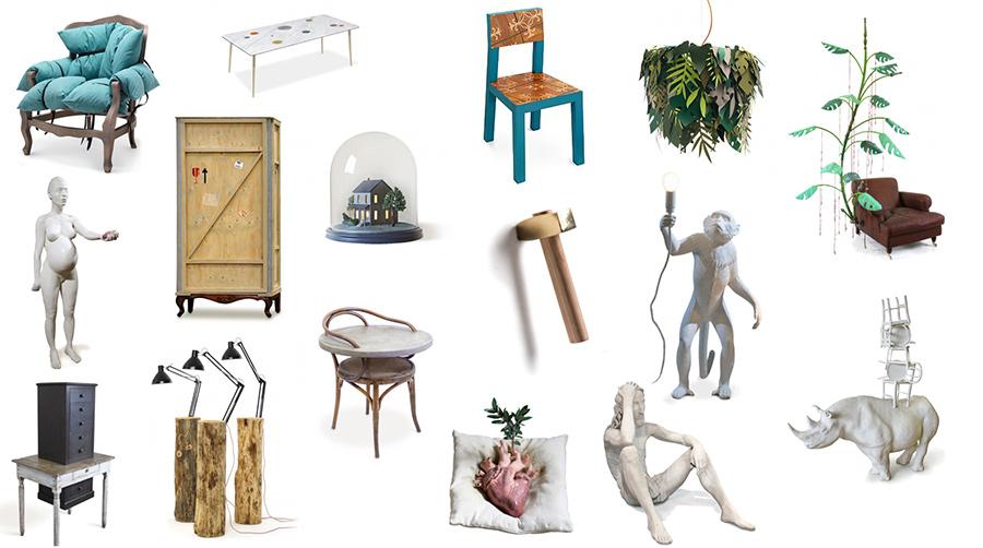 Marcantonio art & design, grupo 4 de objetos de diseño diseñados por el diseñador italiano Marcantonio Raimondi Malerba