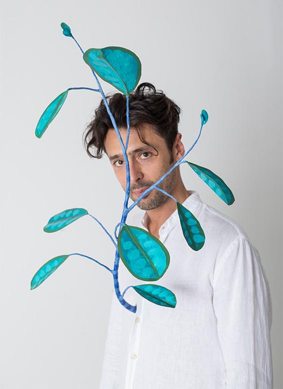 El diseñador italiano Marcantonio Raimondi Malerba